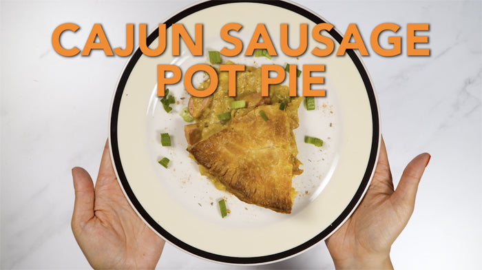 Cajun Sausage Pot Pie