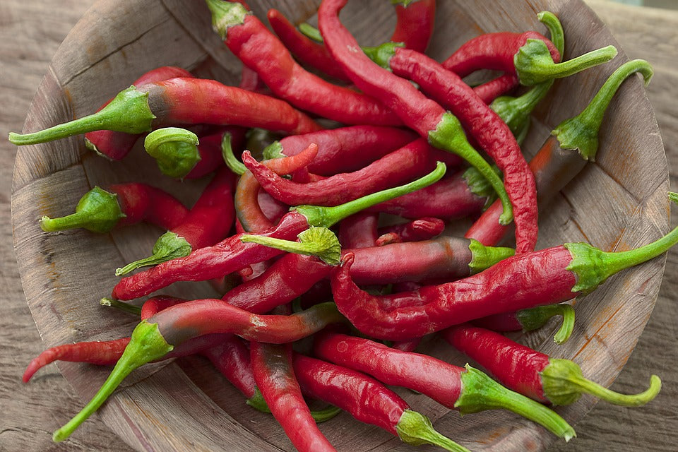 HOT/SPICY PEPPERS