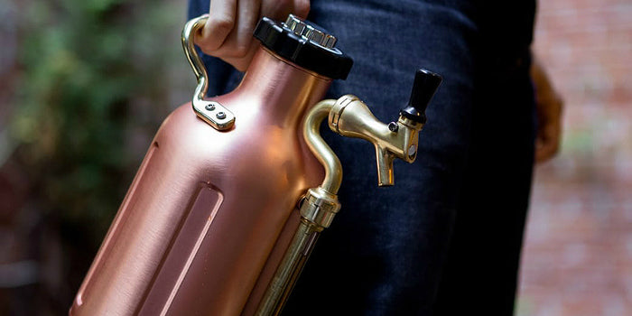 Copper Growler with Tap