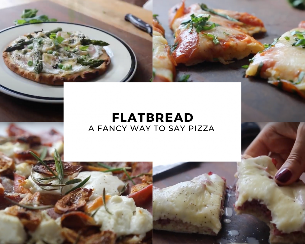 4 Easy Flatbreads