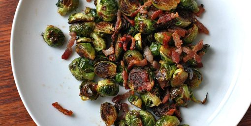 Mean Green Brussel Sprouts