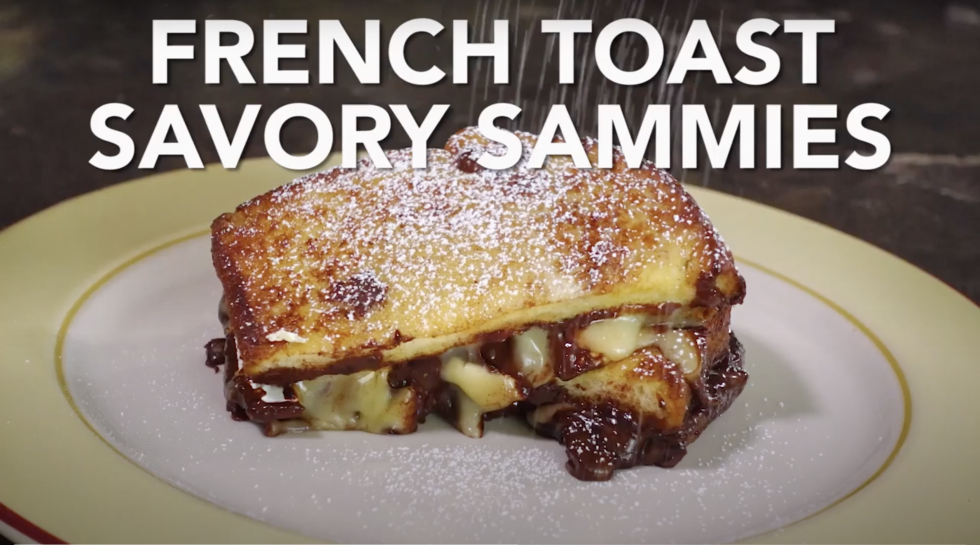 Savory French Toast Sammies