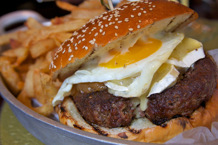 THE BRUNCH BURGER