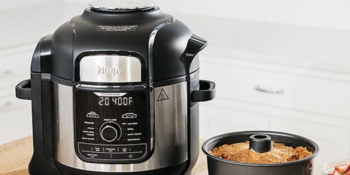 The Ninja® Foodi™ 8-qUART 9-in-1 Deluxe XL Pressure Cooker & Air Fryer