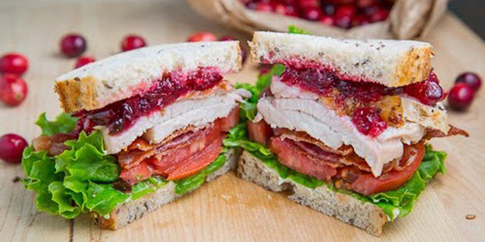 Turkey and Cranberry Club