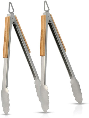 "12"" Grill Tongs 2-Pack"