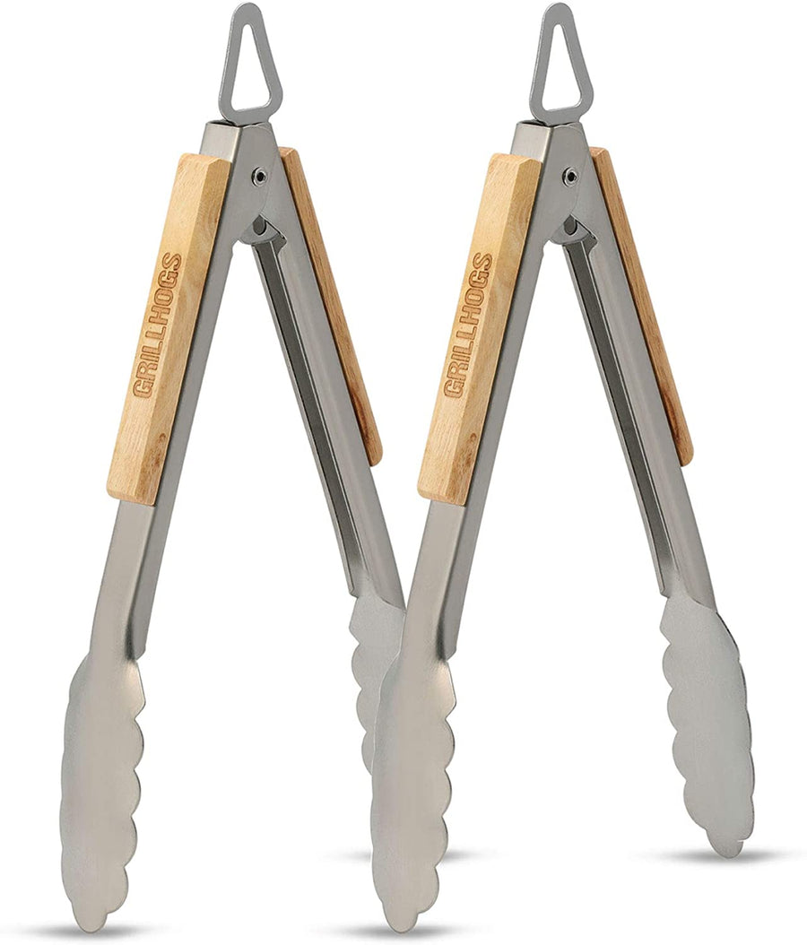 "9"" Grill Tongs 2-Pack"