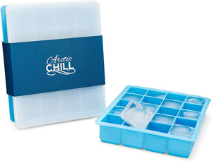 1.5'' Silicone Ice Cube Trays With Lids