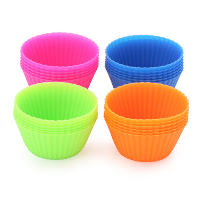 Silicone Baking Cups (24 Count)