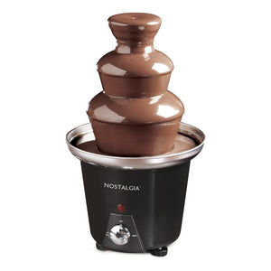 3-Tier 1.5-Pound Chocolate Fondue Fountain