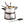 Load image into Gallery viewer, 6-Cup Stainless Steel Electric Chocolate & Cheese Fondue Pot