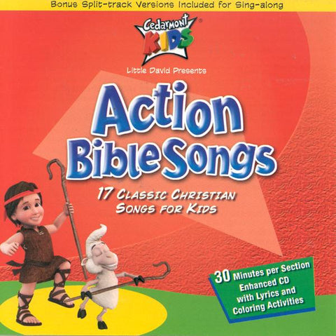 Action Bible Songs  CD