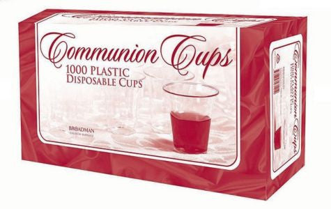 8225  Communion Cups Disposable (Box of 1000) 聖餐杯