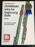 Christmas Solos for Beginning Flute (Level 1)  長笛獨奏曲