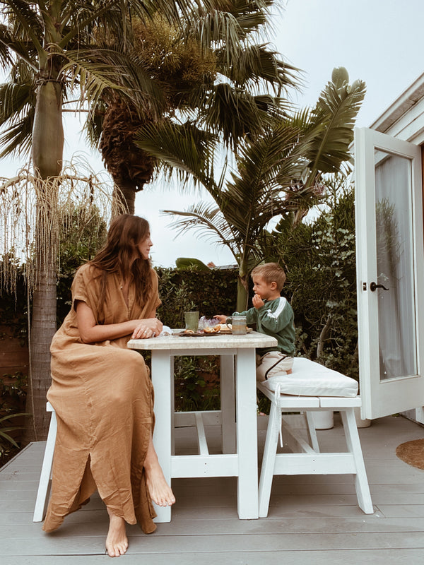 At Home With Rachel Roberts : Momma, Model + Founder of Chasseresse