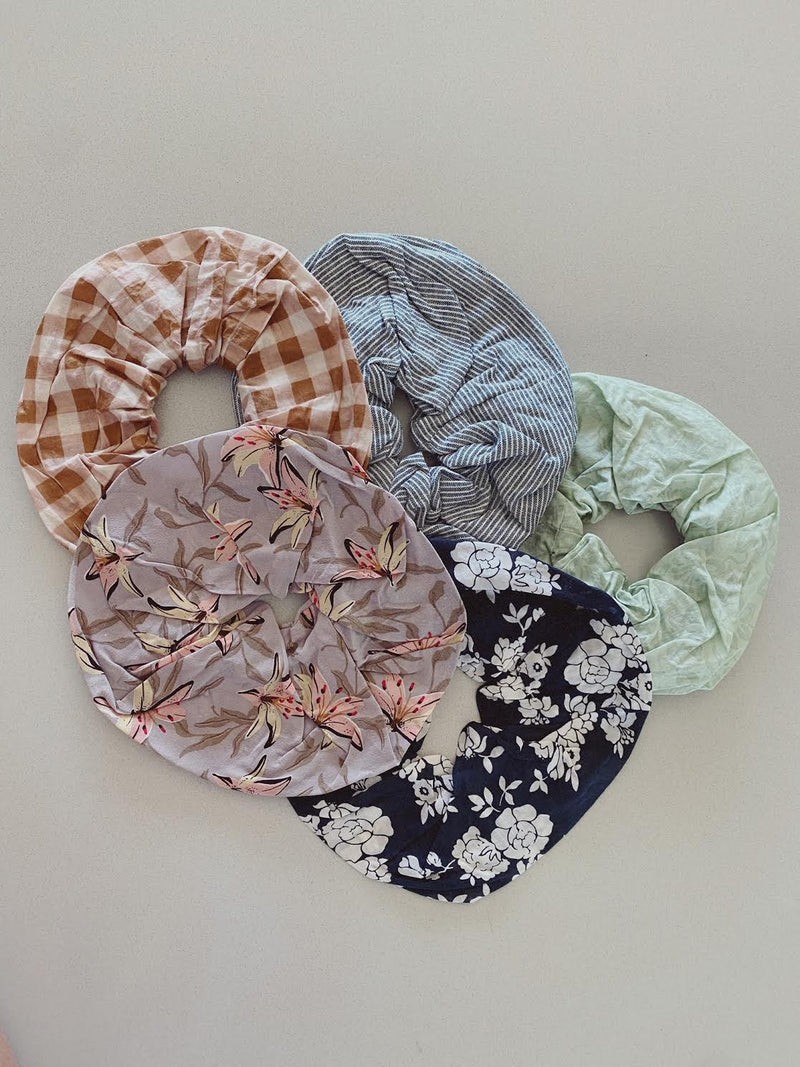 ACACIA SCRUNCHIE SETS - SPRING 2021