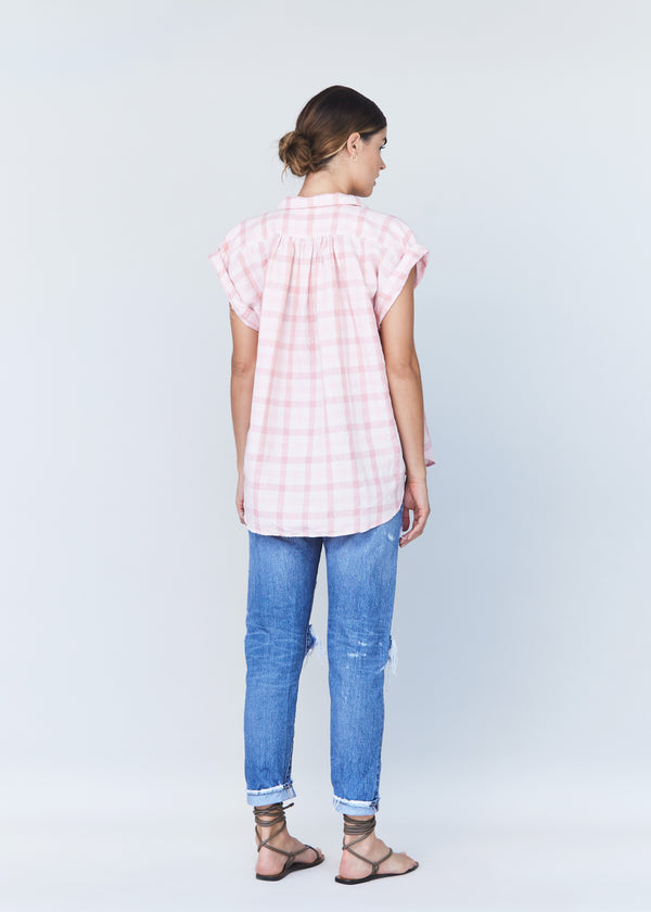 MAX COTTON LINEN TOP - RESORT 2021