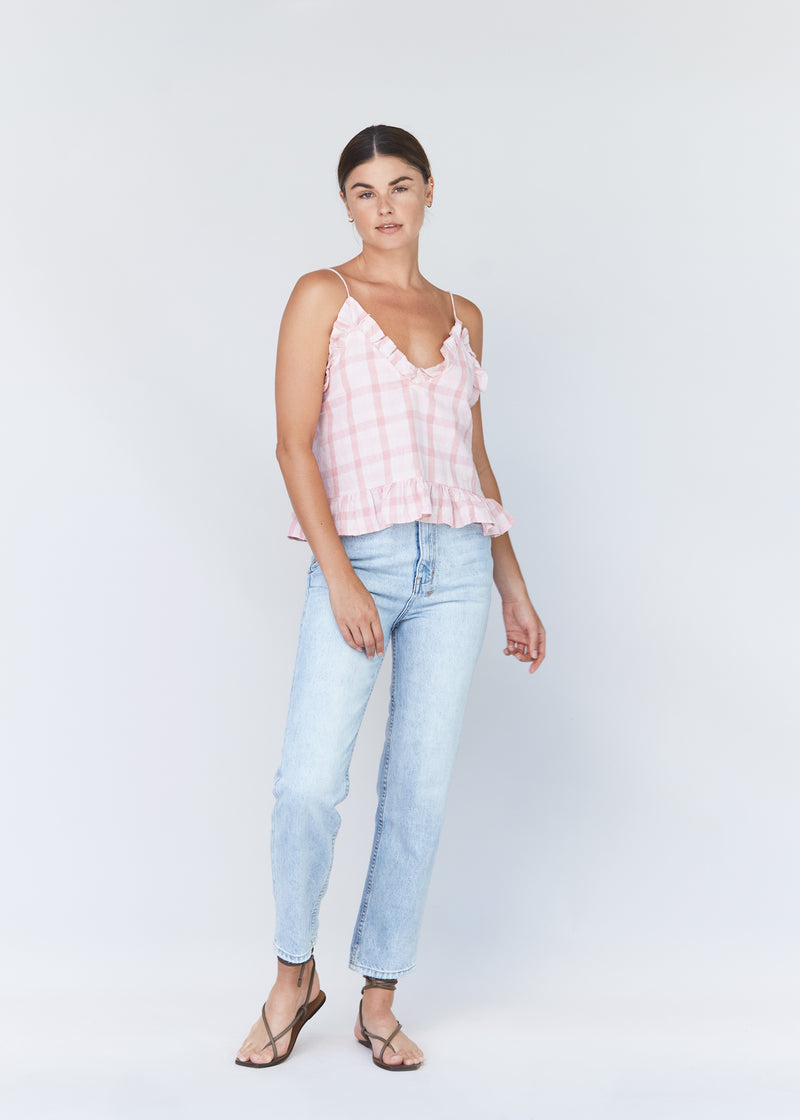 CHEY COTTON LINEN TOP - RESORT 2021