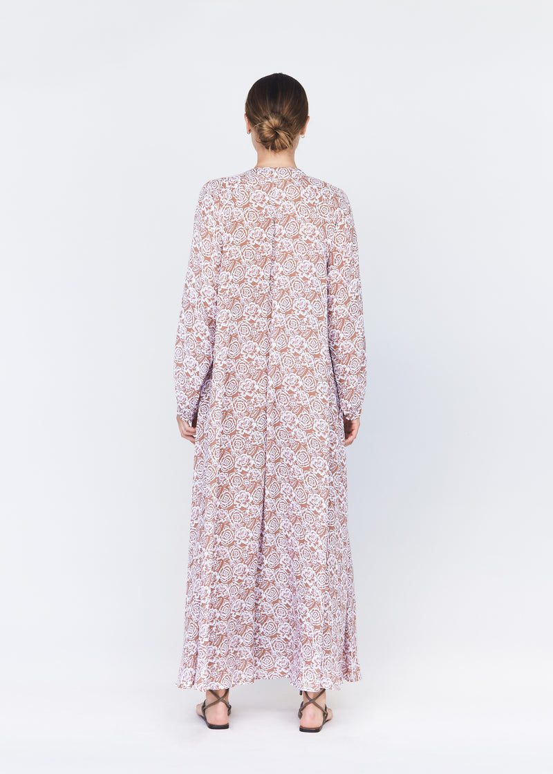 SRI LANKA TENCEL DRESS - RESORT 2021