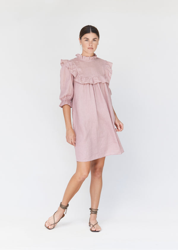 LAHAINA LINEN DRESS - RESORT 2021
