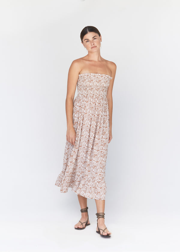 DAISY LINEN DRESS - RESORT 2021