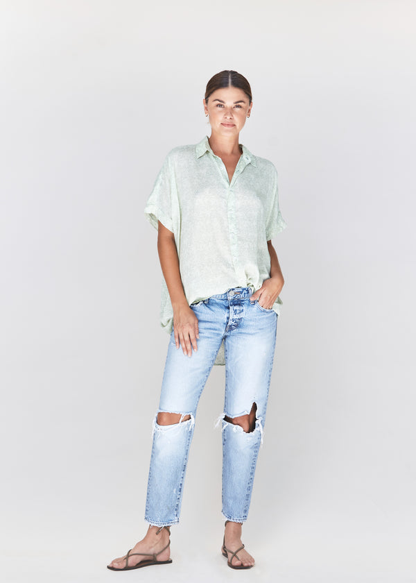 MOMBASA BUTTON DOWN - SPRING 2021