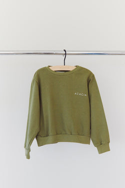 KIDS ASHER LOGO SWEATSHIRT - RESORT 2021