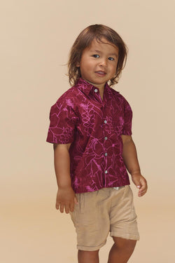 KIDS ALOHA SHIRT - RESORT 2020