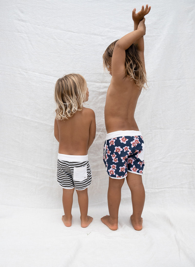 KIDS SURF TRUNKS - RESORT 2021