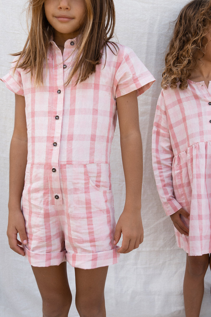KIDS OLIVER ORGANIC COTTON JUMPSUIT - RESORT 2021