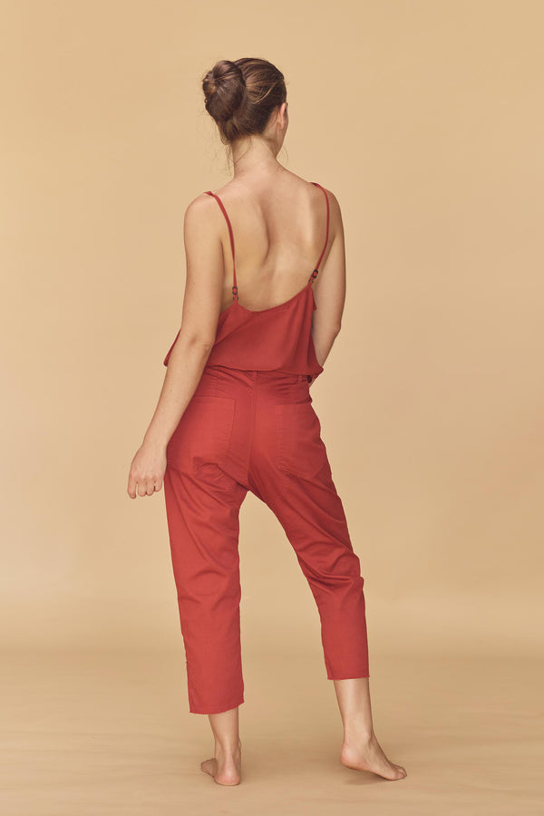 DUBLIN COTTON TWILL PANT  - RESORT 2020