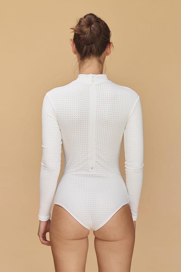 EHUKAI MESH BODY SUIT - RESORT 2020