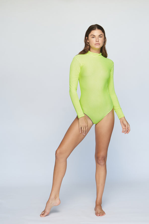 EHUKAI MESH BODY SUIT - SUMMER 2020