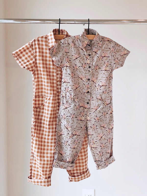 KIDS TETON ORGANIC COTTON JUMPSUIT - SPRING 2021