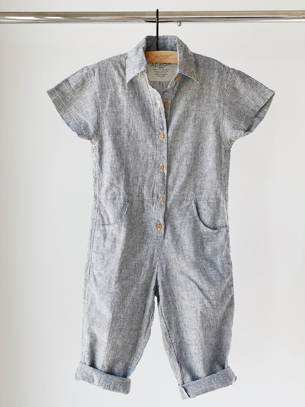 KIDS TETON COTTON HEMP JUMPSUIT - SPRING 2021