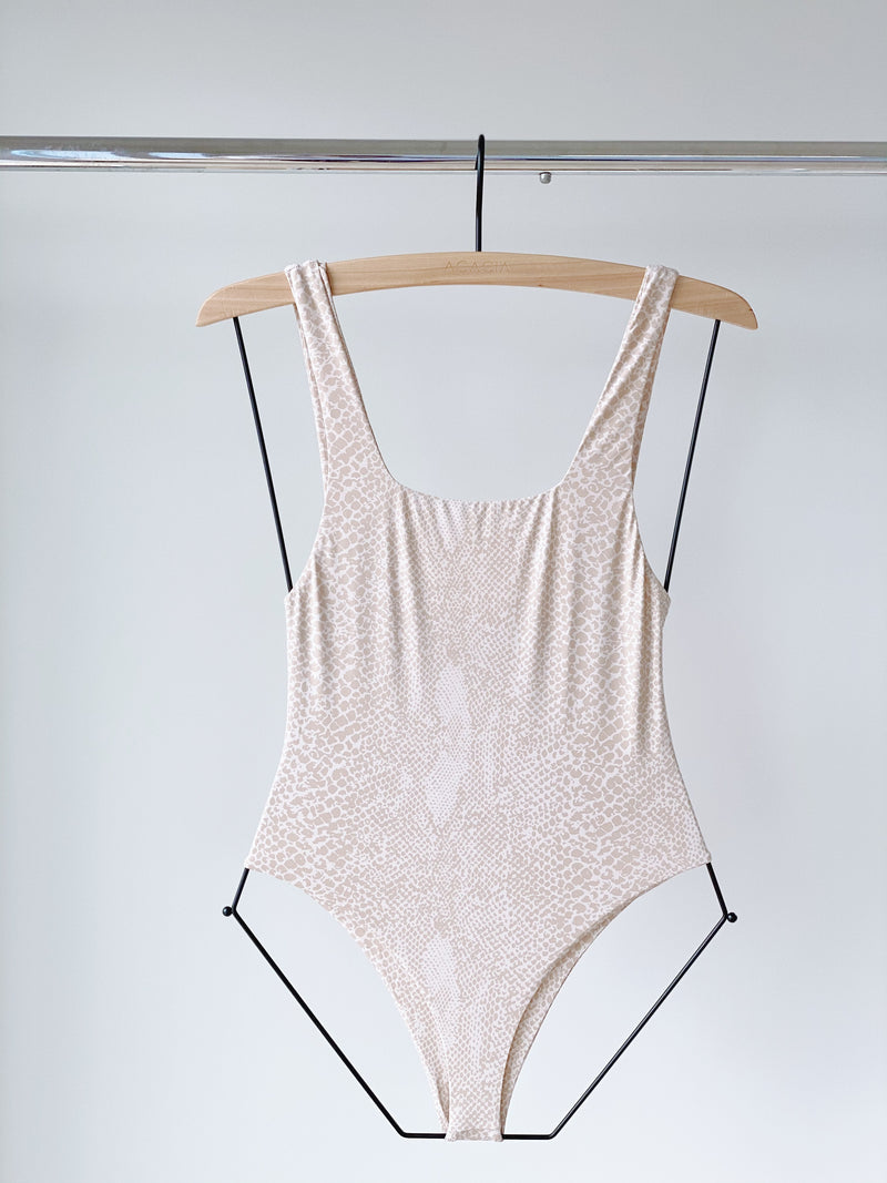 RIVER LINING BODYSUIT - LIGHT SNAKE EXCLUSIVE