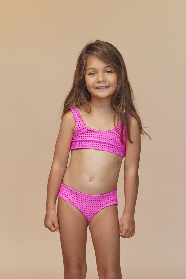 KIDS KANAIO MESH TOP - RESORT 2020