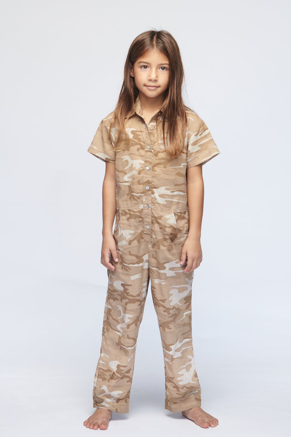 KIDS TETON COTTON LINEN JUMPSUIT - RESORT 2021