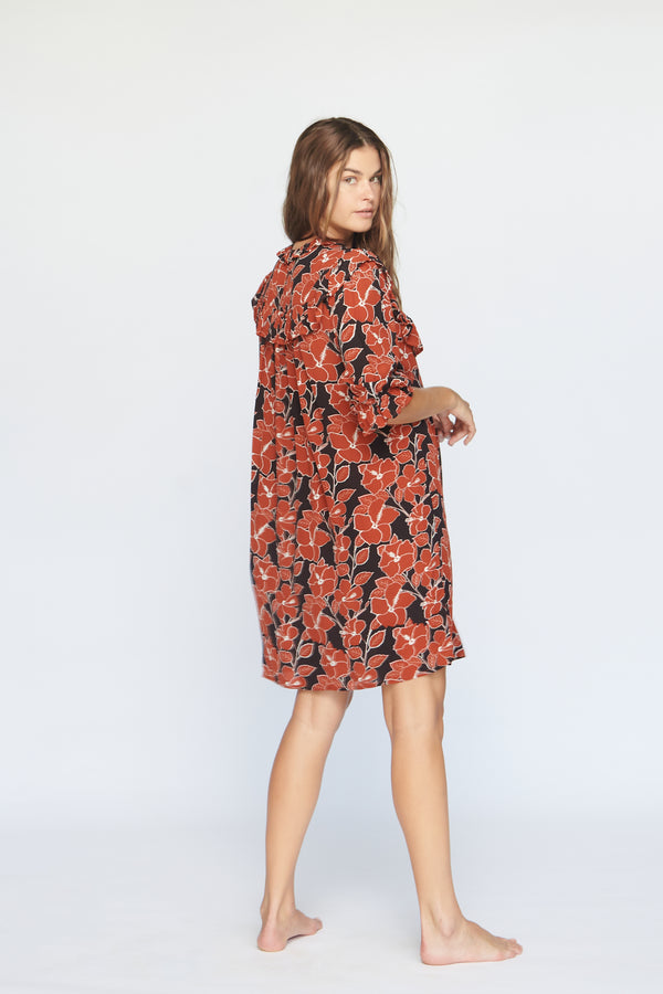 LAHAINA CUPRO DRESS - SUMMER 2020