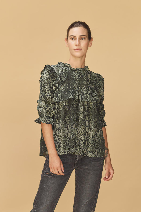 LEBLON CUPRO TOP - RESORT 2020