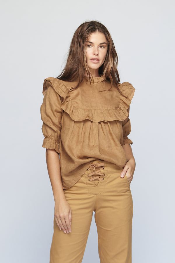 LEBLON LINEN TOP - SUMMER 2020