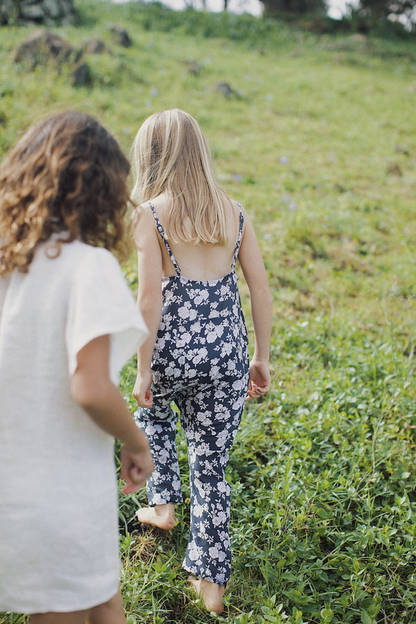 KIDS TOM COTTON HEMP JUMPSUIT - SPRING 2021