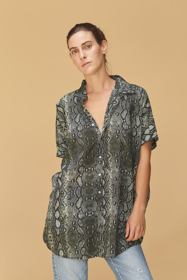 MOMBASA TENCEL BUTTON DOWN - RESORT 2020