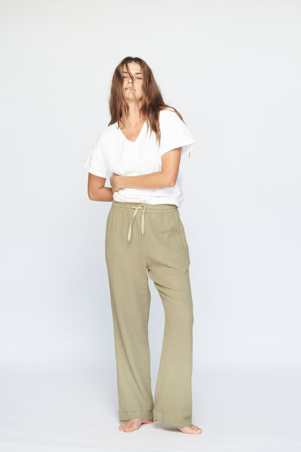 MONACO COTTON GAUZE PANT - SUMMER 2020