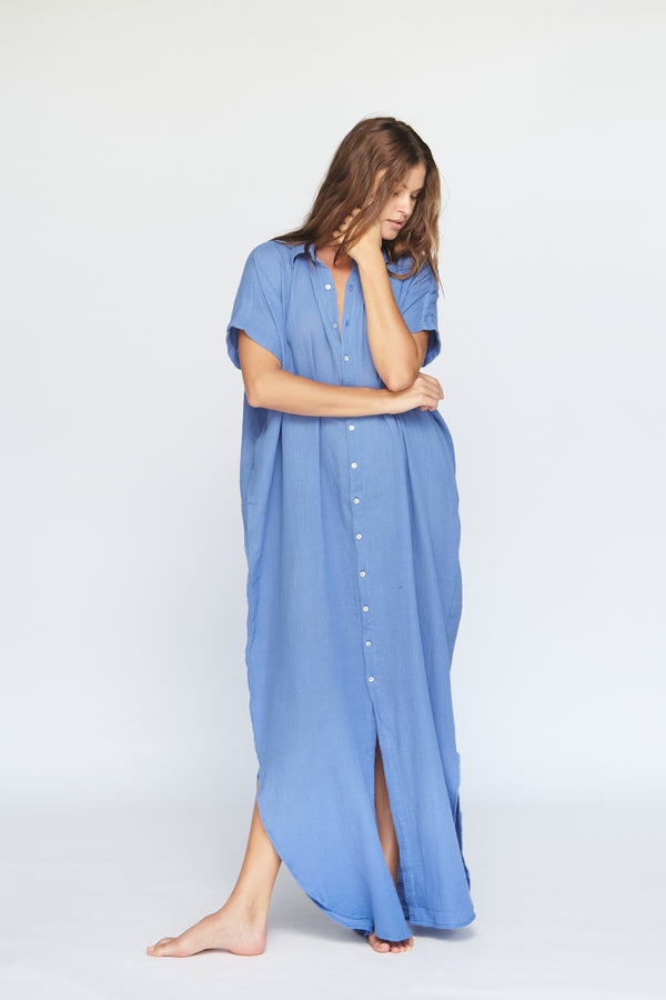 OAHU COTTON GAUZE DRESS - SUMMER 2020