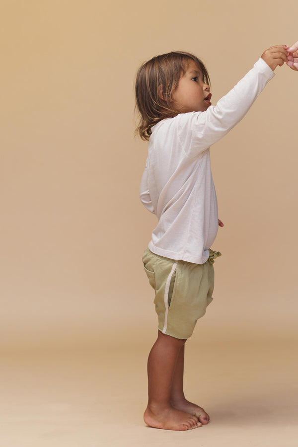 KIDS COTTON TERRY SHORTS - RESORT 2020