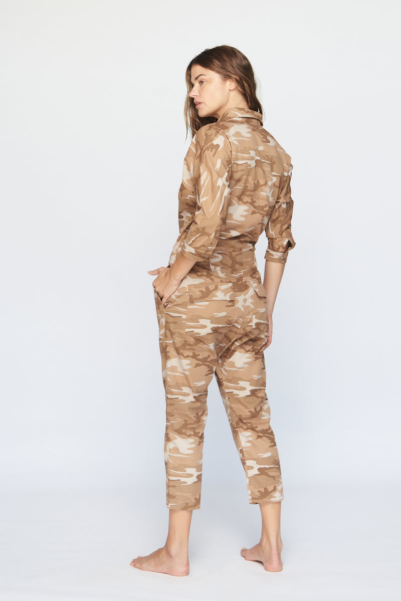 SAN FRAN COTTON TWILL JUMPSUIT - SUMMER 2020