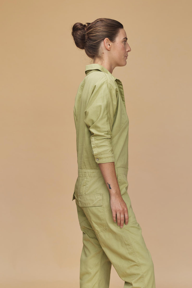 SAN FRAN COTTON TWILL JUMPSUIT - RESORT 2020