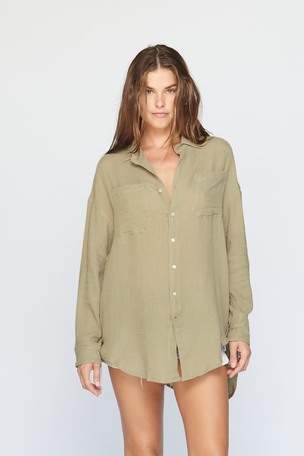 SANTA FE COTTON GAUZE BUTTON DOWN - SUMMER 2020