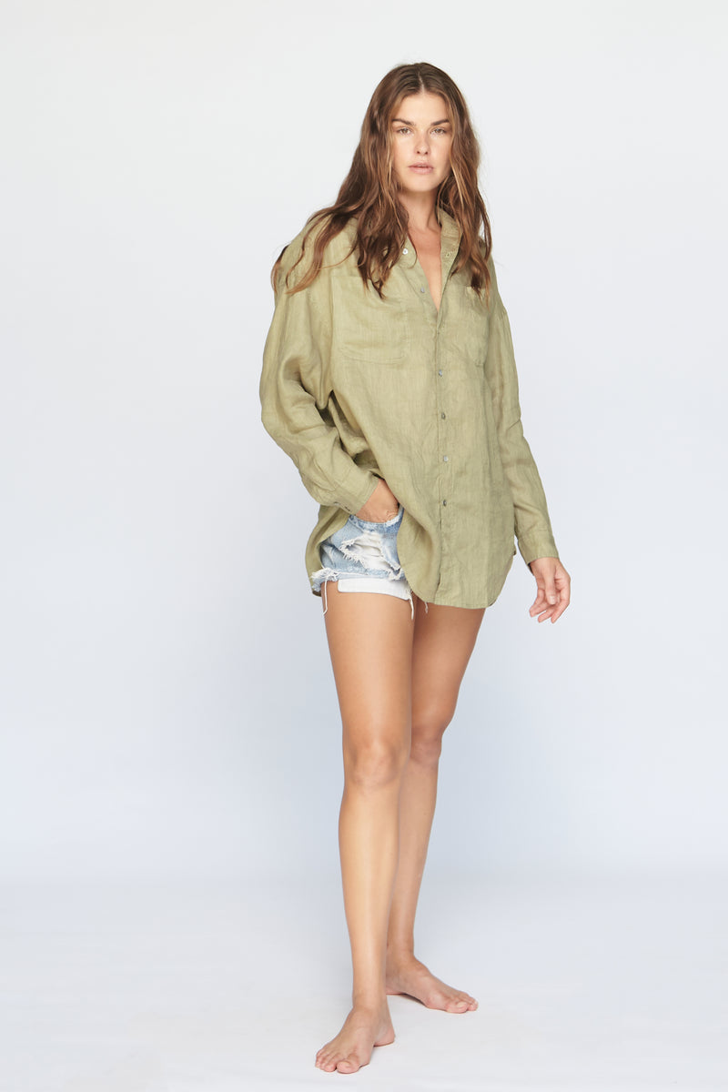 SANTA FE LINEN BUTTON DOWN - SUMMER 2020